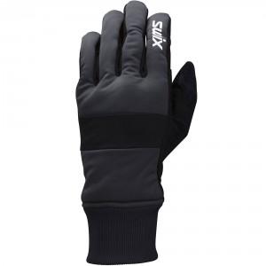 Swix pánské rukavice Cross šedá s černou