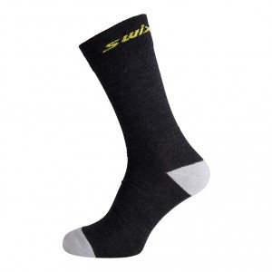 Swix funkční ponožky Track 2-pack černá a černá pruh
