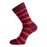 Swix funkční ponožky Track 2-pack červená pruh a červená