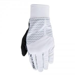 Pánské rukavice Swix NaosX bílá