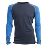 Pánské triko Ulvang Training modrá s tm.modrou