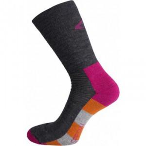 Ponožky Ulvang Spesial šedá s růžovou