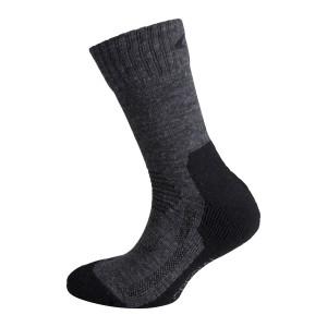 Dětské ponožky Ulvang Jr Spesial šedá s černou