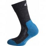 Dětské ponožky Ulvang Jr Spesial šedá s modrou