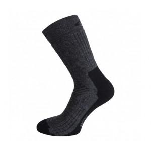 Ponožky Ulvang Aktiv šedá s černou