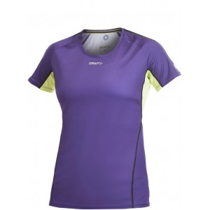 Dámské triko Performance Run fialová