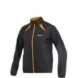 Pánská bunda Craft PR Featherlight černá s oranžovou