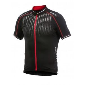 Pánský cyklodres Craft Glow černá s červenou