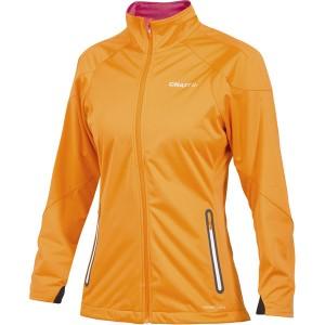 Dámská bunda Craft PXC Light Softshell oranžová