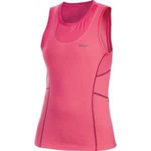 Dámská vesta Craft Bodymapped růžová