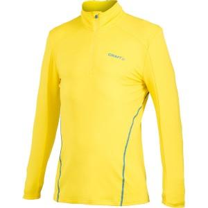 Pánský polorolák Craft Lightweight Stretch Pullover žlutá