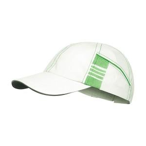 Kšiltovka Craft Focus bílá se zelenou