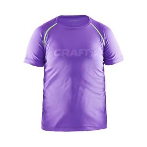 Dětské triko Craft Run fialová