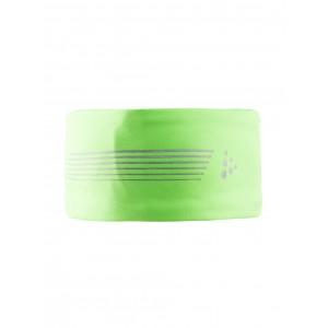 Čelenka Craft Brilliant zelená reflexní