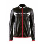Pánská bunda Craft Featherlight černá s červenou