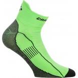Ponožky Craft Cool Run Ancle zelená reflexní