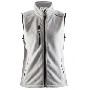 Dámská vesta Craft Fleece šedá