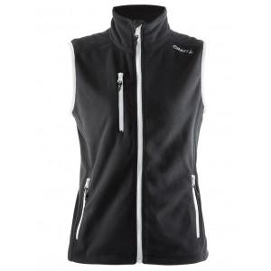 Dámská vesta Craft Fleece černá