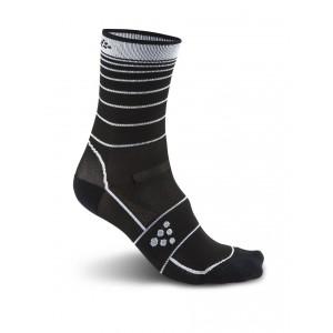 Ponožky Craft Grand Fondo černá s bílou