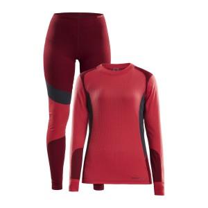 Dámský set Craft Baselayer triko a spodky červená