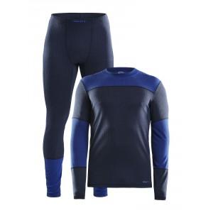 Pánský set Craft Baselayer triko a spodky modrá