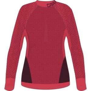 Dámské triko Craft Warm Intensity tmavě červená