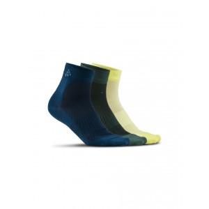 Ponožky Craft Cool Mid 3-pack balení vícebarevná