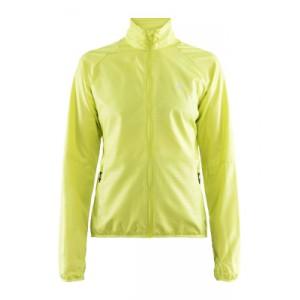 Dámská bunda Craft Eaze žlutá