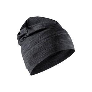 Čepice Craft Melange High tmavě šedá