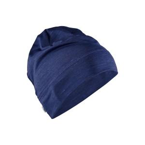 Čepice Craft Melange High modrá