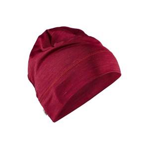 Čepice Craft Melange High červená