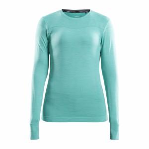 Dámské triko Craft Fuseknit Comfort světle zelená