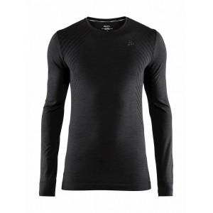 Pánské triko Craft Fuseknit Comfort černá