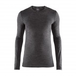 Pánské triko Craft Fuseknit Comfort tmavě šedá