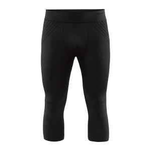 Pánské 3/4 spodky Craft Fuseknit Comfort černá