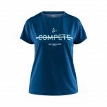 Dámské triko Craft Eaze Logo Mesh tmavě modrá