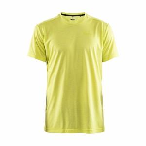 Pánské triko Craft Charge žlutá