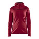 Dámská mikina Craft Eaze Sweat Hood červená