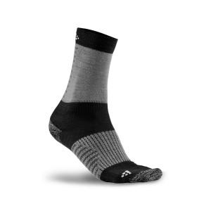 Ponožky Craft Warm XC Training šedá