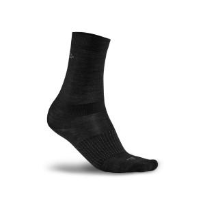 Ponožky Craft 2-Pack Wool Liner černá