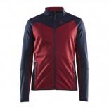 Pánská bunda Craft Glide červená