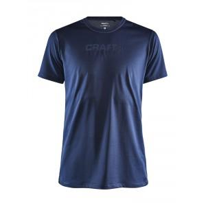 Pánské triko Craft Core Essence Mesh tmavě modrá