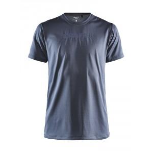Pánské triko Craft Core Essence Mesh tmavě šedá