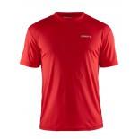 Pánské triko Craft Prime červená