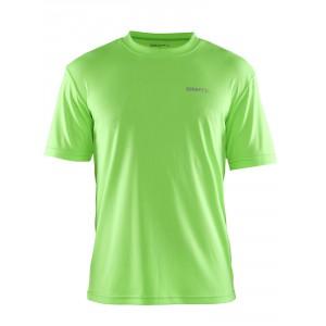 Pánské triko Craft Prime zelená reflexní