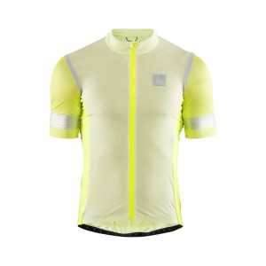 Pánský cyklodres Craft Hale Glow žlutá