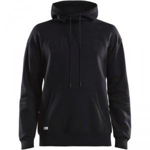 Pánská mikina Craft Overhead Logo Hood černá
