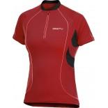 Dámský cyklodres Craft Active Bike Classic Jersey červená