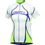 Dámský cyklodres Craft PB Tour bílá s fialovou