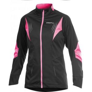Dámská bunda Craft High Performance černá s růžovou